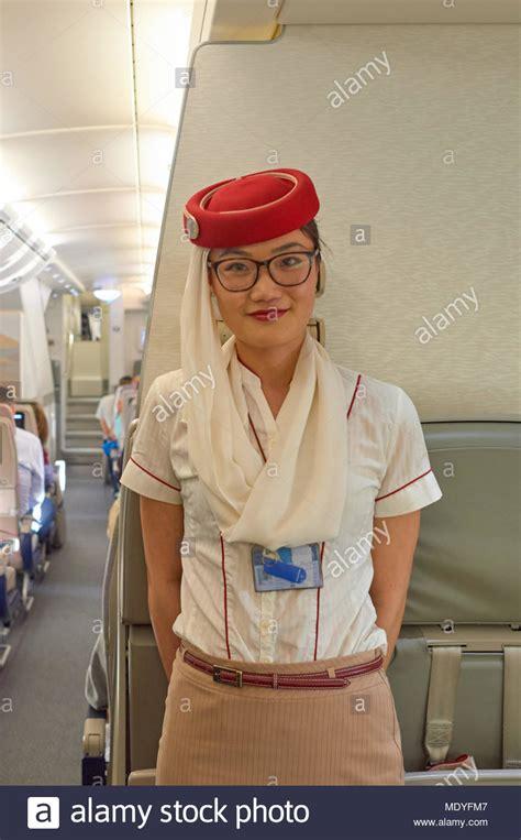 Emirate Cabin Crew Emirates Cabin Crew Stock Photos Emirates Cabin Crew