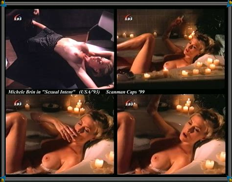 Naked Michele Brin In Sexual Intent