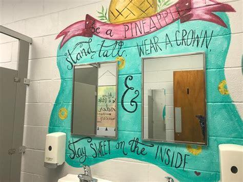 cool school bathroom  fayetteville abccom