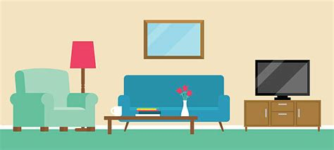 Top 60 Living Room Clip Art, Vector Graphics And