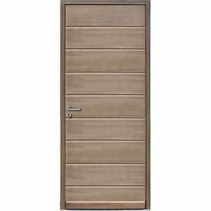 Isolation Bas De Porte D Entrée : porte d 39 entr e en bois massif isolation thermique ~ Premium-room.com Idées de Décoration