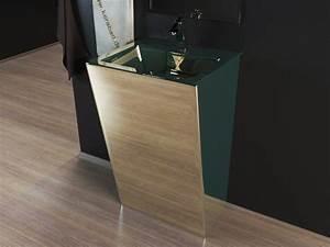 Stand Wc Eckig : design stand waschbecken waschtisch s ule kbe3c chrom silber ebay ~ Markanthonyermac.com Haus und Dekorationen
