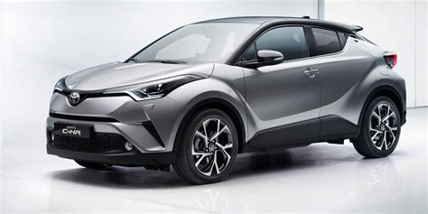 Toyota Car : 2017 Toyota C-hr Unveiled In Geneva, Australian Launch Due