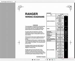 Ford Ranger 2010 5 0l Electrical Wiring Diagrams