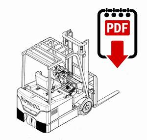 Toyota 6bpu15 Forklift Parts Manual