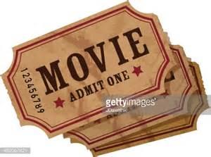 Vintage Movie Ticket