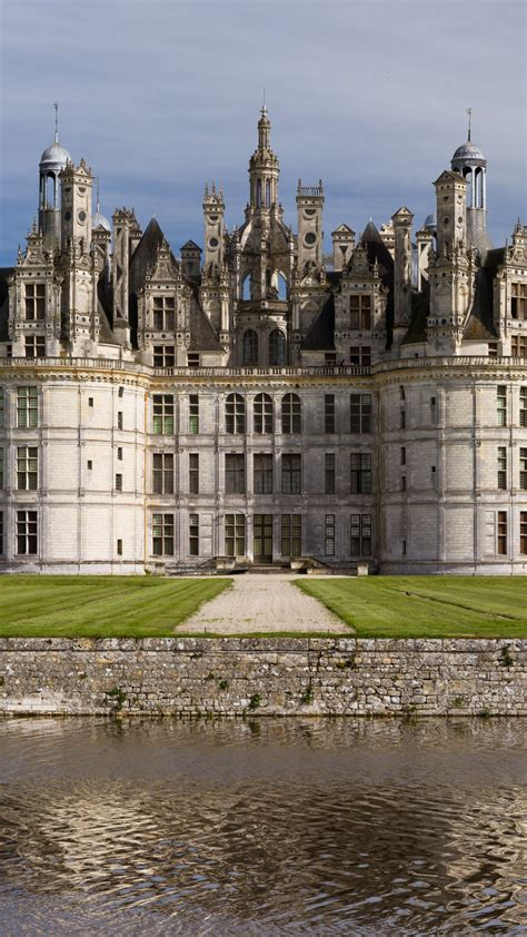 wallpaper chambord france loir  cher chambord chateau