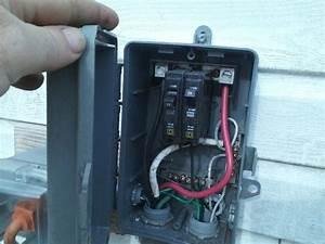 Run A 30 Amp Rv Outlet     Outside Non Burial