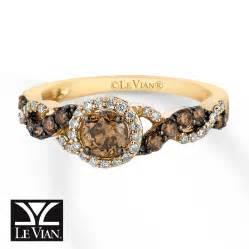 chocolate engagement ring levian chocolate diamonds 3 4 ct tw ring 14k honey gold