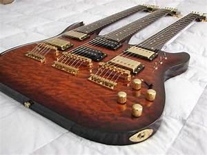 Galveston 6  7  12 Triple Neck Guitar