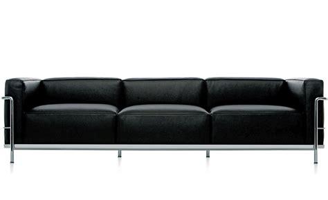 Lc Sofa le corbusier lc3 three seat sofa hivemodern