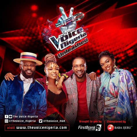 """The voice nigeria is screened on africa magic, channel 151 on dstv, from for updates on social media, follow us on: Everything We Know About """"The Voice Nigeria"""" Season 3   BellaNaija"""