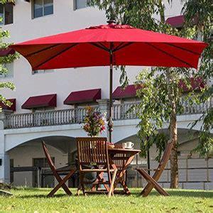 abba patio solar powered aluminum umbrella
