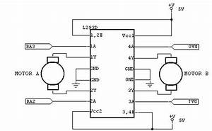 buy l293d dual h bridge motor driver ic online in india With two phase motor driver circuit using sn754410 two phase motor driver