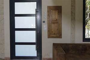 portes et fenetres menuiseries aluminium et pvc sommieres With porte d entrée pvc avec baie vitrée alu
