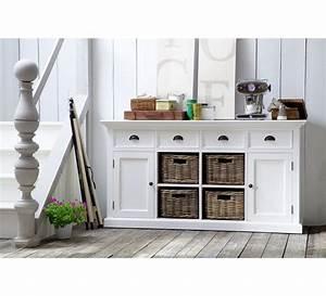 Meuble De Rangement Avec Panier : meuble de rangement avec paniers en rotin cygne 6430 ~ Teatrodelosmanantiales.com Idées de Décoration