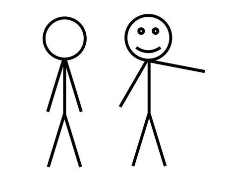 How To Make A Stick Man In Powerpoint