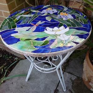 Mosaik Selber Fliesen Auf Altem Tisch : mosaik basteln prachtvolle kunstwerke schaffen ~ Watch28wear.com Haus und Dekorationen