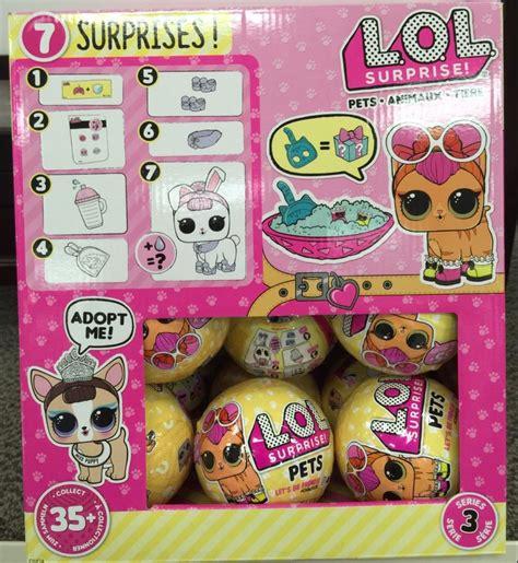 lol surprise dolls pets lol  layers  surprises