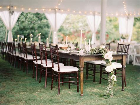 party rental  tables  rectangle goodwin
