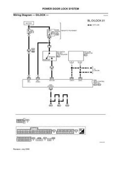 2006 Nissan Maxima Wiring Diagram by Repair Guides Lock Security System 2006