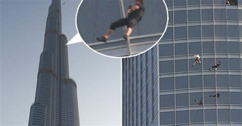 Tom Cruise Dangles From Worlds Tallest Building For New