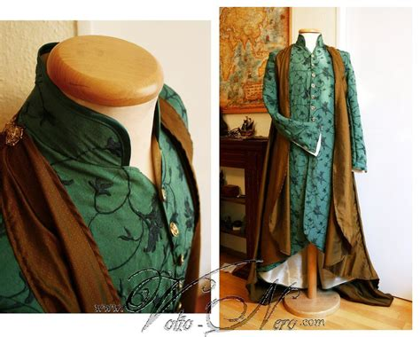 Lord Elrond Robe The Hobbit Cosplay Costume Elven