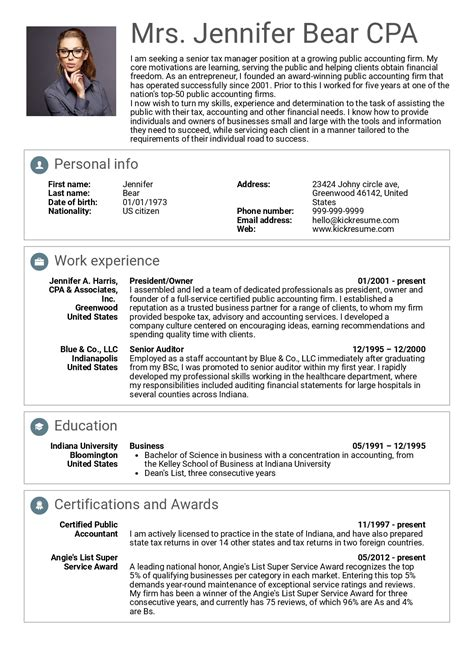 It Executive Resume Sles by Account Executive Resume Sle Pdf Accounting Exles