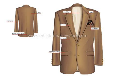 v 234 tements gt v 234 tements d homme gt veston et veste gt veste droite image dictionnaire visuel