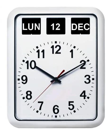 pendule murale de cuisine horloge murale calendrier 1001 pendules
