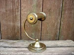 Lampe à Pétrole Ancienne Le Bon Coin : lampe de bureau en laiton ancienne ~ Melissatoandfro.com Idées de Décoration