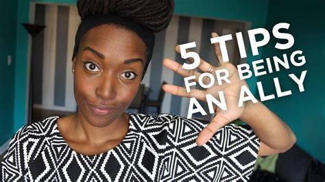 5 Tips For Being An Ally Youtube