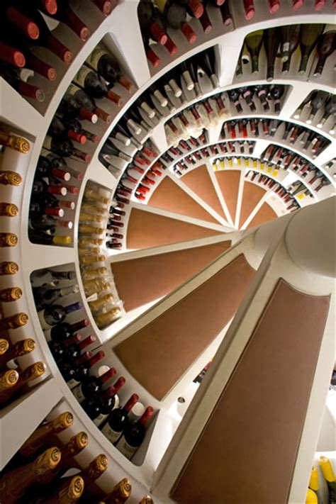 spiral wine cellar in kitchen floor spiral cellars a home for your wine 9374