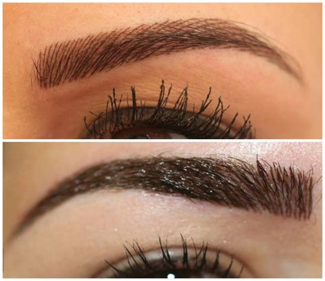 feather tattooed eyebrows    tat ideas