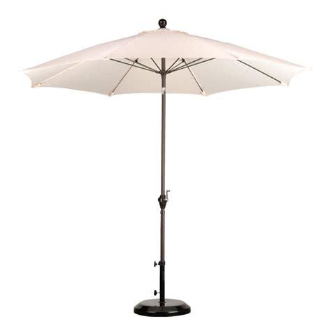 9 finish patio umbrella angled sunshade