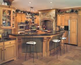 tuscan style birch kitchen traditional kitchen