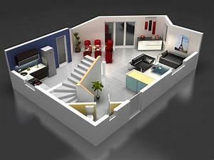 maisons stephane berger modele maison modele maison lena With wonderful construire sa maison 3d 5 plan maison 90m2 3d