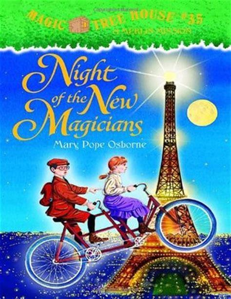 night    magicians magic tree house   mary