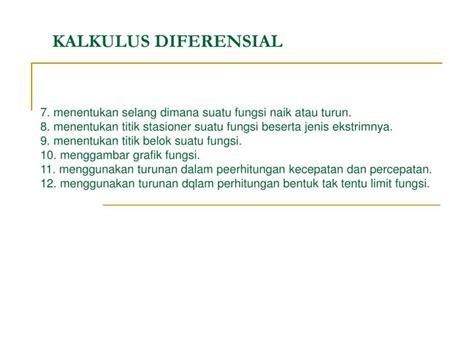 kalkulus diferensial pdf