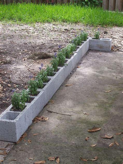 garden border blocks 25 best ideas about concrete garden edging on pinterest concrete landscape edging paver