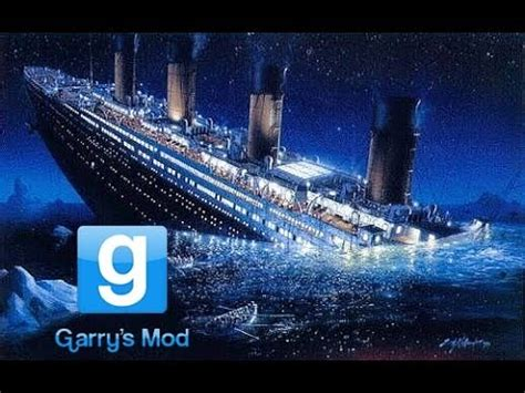 garry s mod sinkable ship based on titanic with