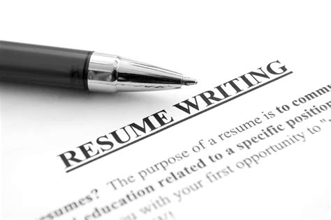Resume Writing by Advices For Resume Writing