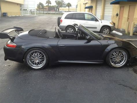 porsche 996 rsr sell used porsche 996 cabrio rsr street car in hallandale