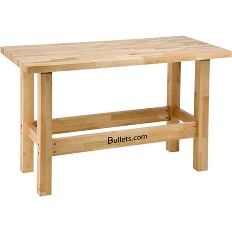 heavy duty birch workbench grizzly industrial