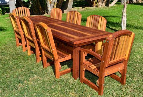 woodwork redwood furniture plans  plans