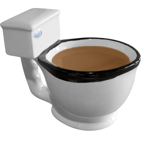 Evelots The Toilet Mug, Coffee, Tea, from Evelots   Tea time