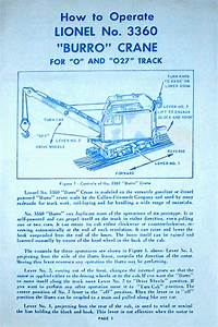 Lionel Trains 3360 Burro Crane Unit