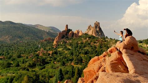 Garden Of The Gods Images by Discover Colorado Springs Garden Of The Gods