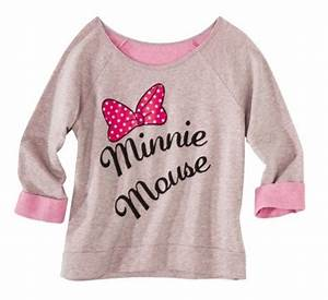 MINNIE MOUSE Graphic Neon Pop Sweat Shirt Junior S M L