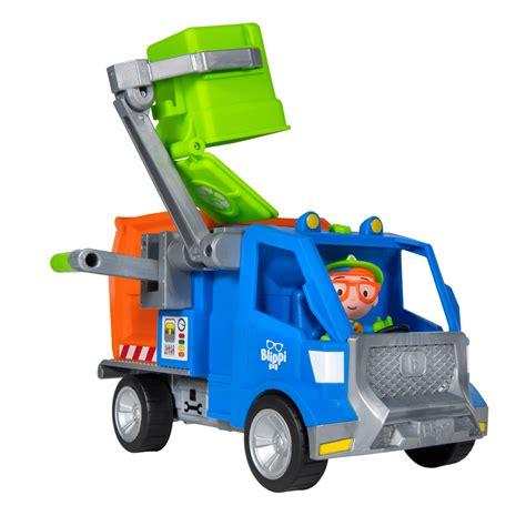 blippi recycle truck vehicle  toy insiders list
